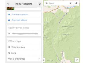 how to download google maps offline ios