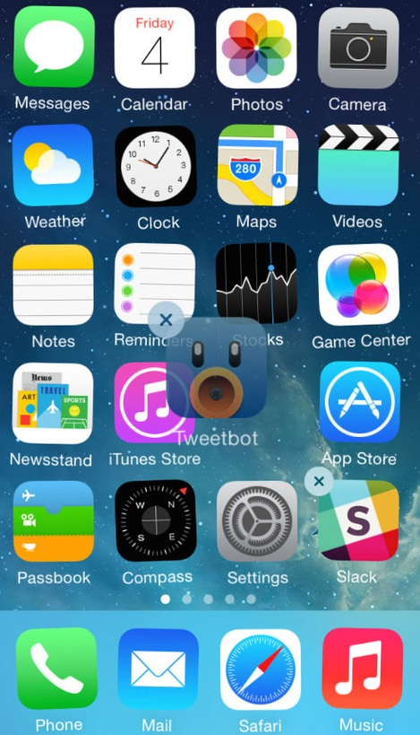 how to rearrange apps on iphone how to rearrange app icons on your ios home screen 5274