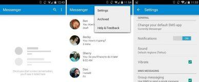 Android Lollipop Messenger