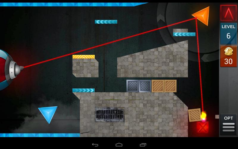 Laserbreak level 6 walkthrough