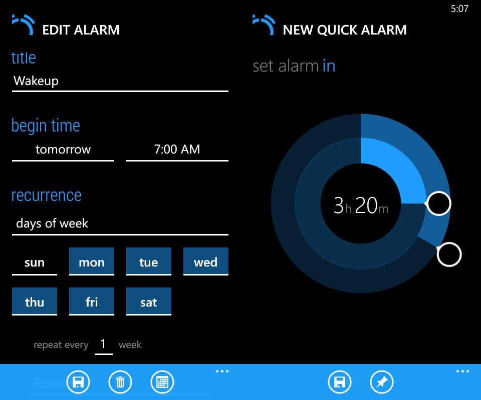 Realarm - Edit alarm & quick alarm