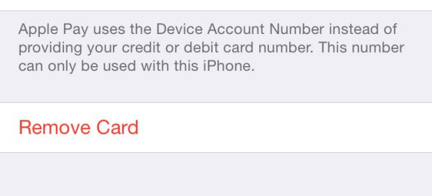 how to remove your credit card s from apple pay