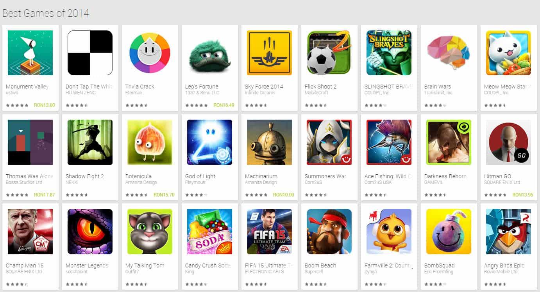 best google play apps 2014