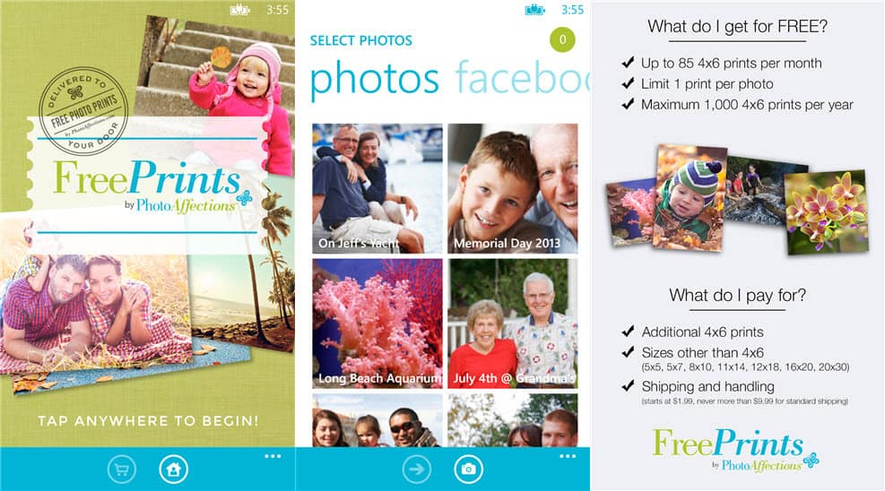 Freeprints App For Windows Phone Will Be Discontinued On March 1