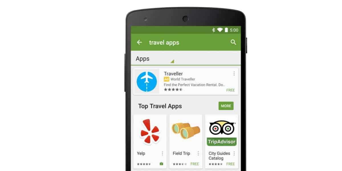 Play Store Will Soon Display Ads In Search Results