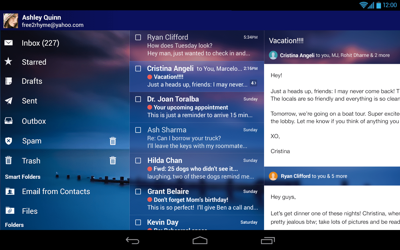 Yahoo Mail for Android update brings package tracking