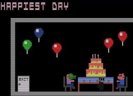 FNaF 3 Happiest Day Minigame