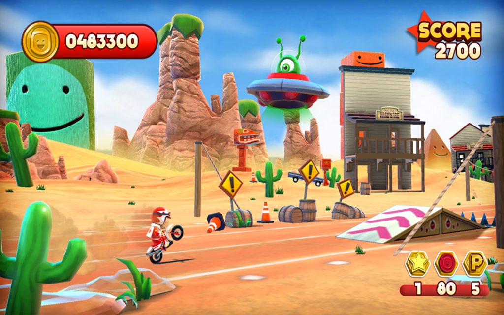 Joe Danger Gameplay