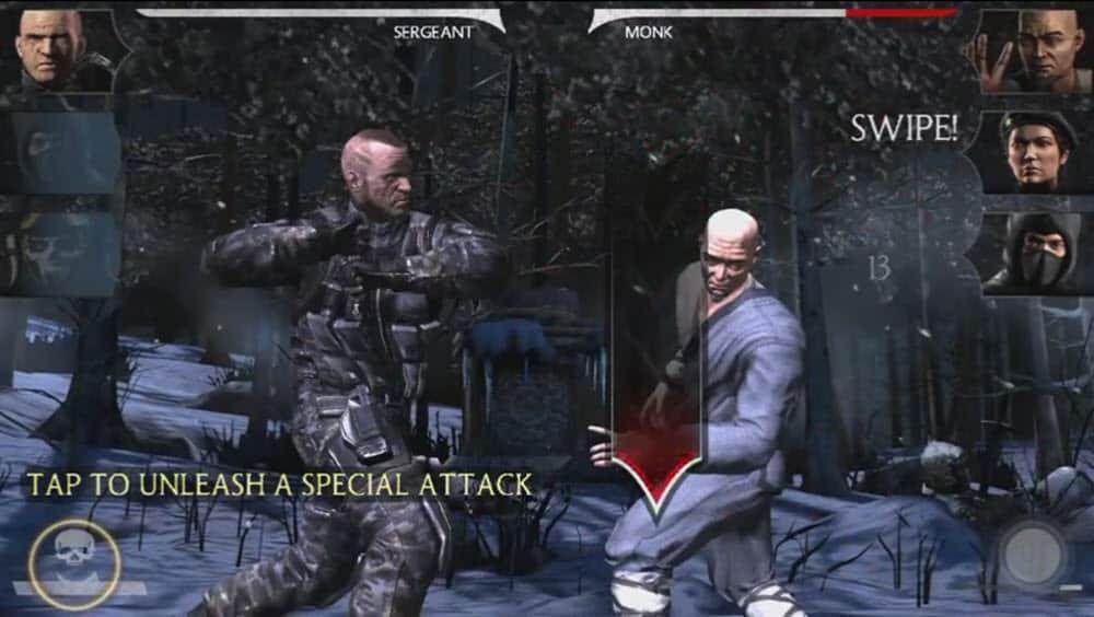 Mortal Kombat X - Special attack