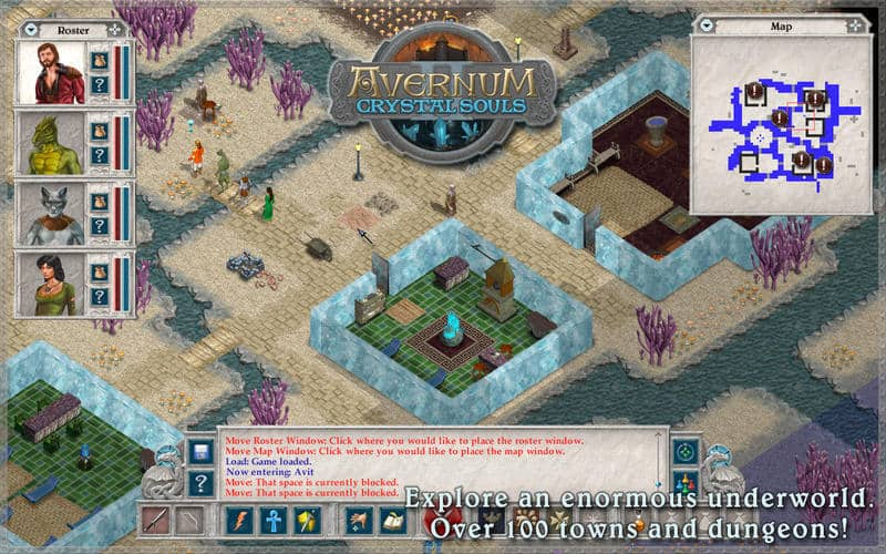Avernum 2: Crystal Souls' cancelled, developer says no more