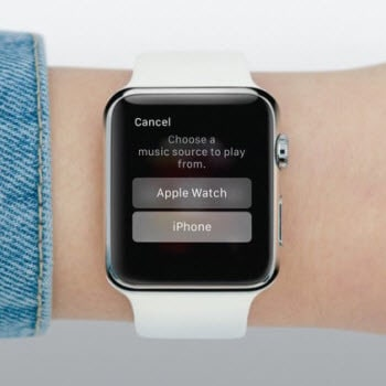 Apple Watch Music Source