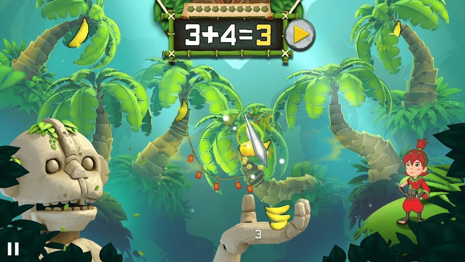 Fruit Ninja Math Master Gameplay