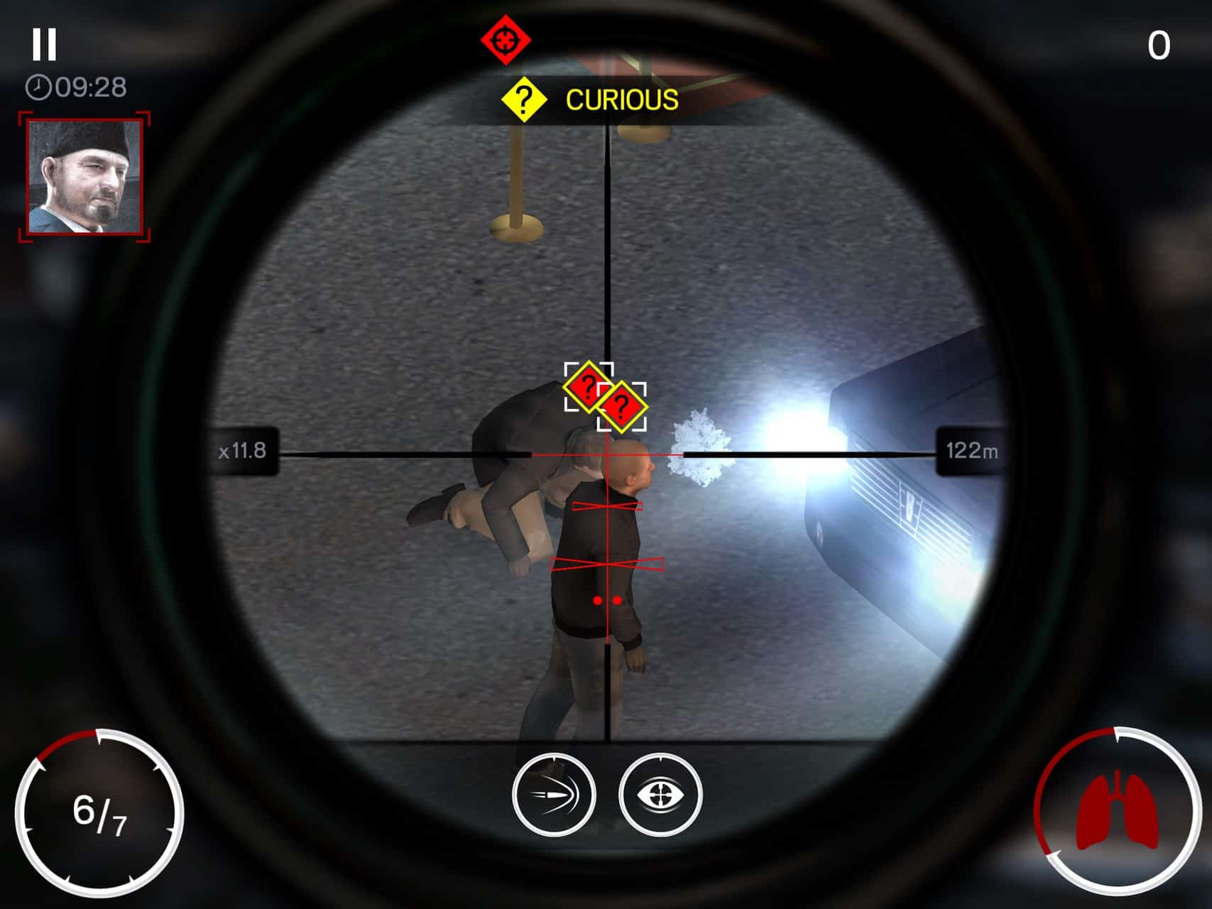 Hitman Sniper Android Wallpaper You Score Points During The