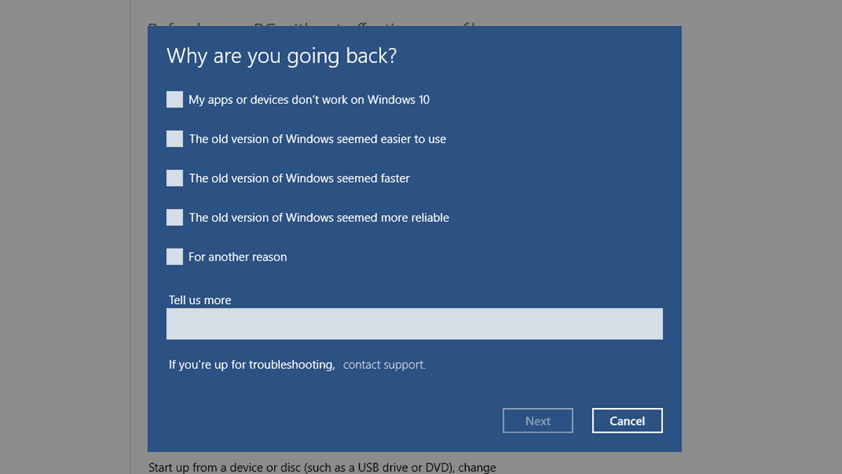 How To: Uninstall Windows 10 and downgrade to 7 or 8 1