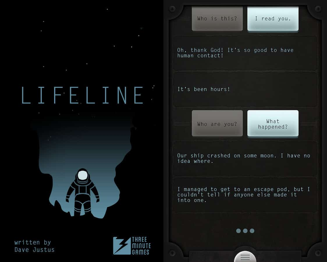 Knitting Lifeline After The Fact : Immersive text based games for android and ios