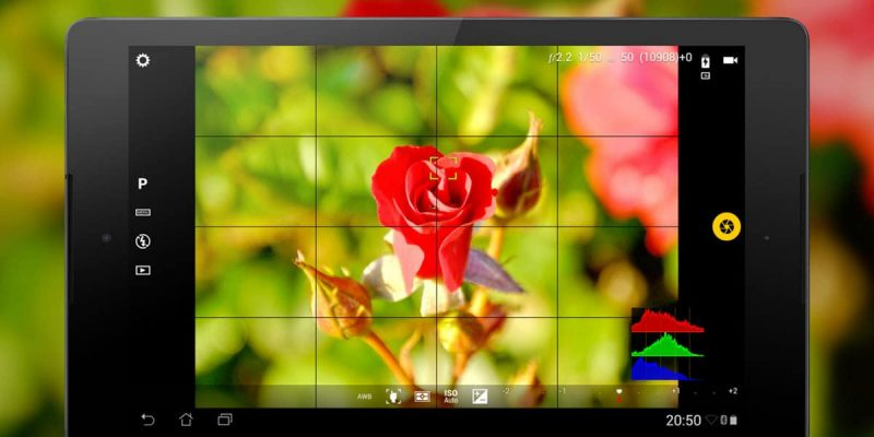 4 Excellent camera apps for Android that let you shoot RAW photos
