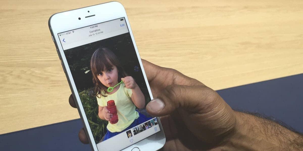 Как на айфоне 6s сделать живое фото