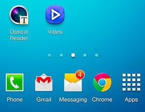 Samsung Home Screen