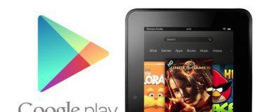 Amazon Fire Google Play