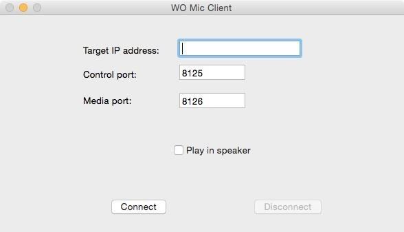 Wo Mic Client для андроид - фото 3