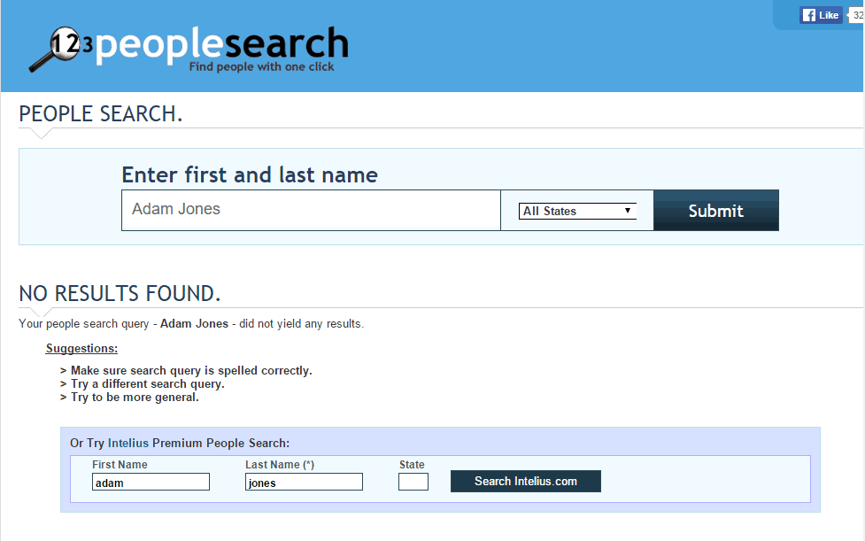 123People Search
