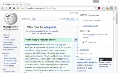 Chrome HTTPS Everywhere