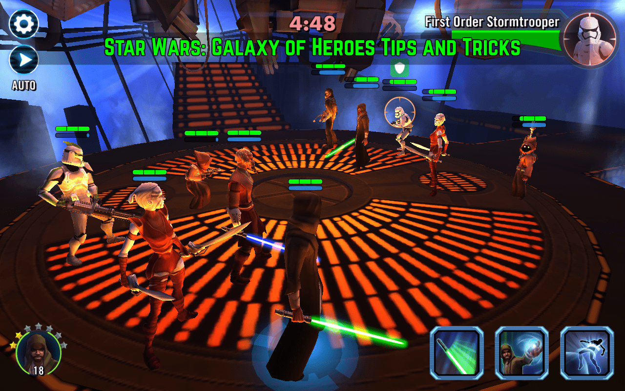 Star Wars: Galaxy of Heroes Tips and Tricks