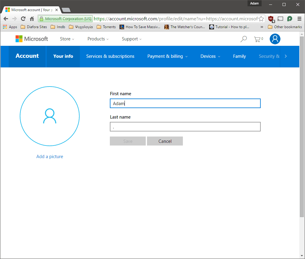 Windows 10] Rename your Local and Microsoft accounts