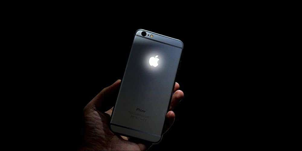 new concept 97688 38189 Here's how you can add a glowing backlit Apple logo to your iPhone 6 ...