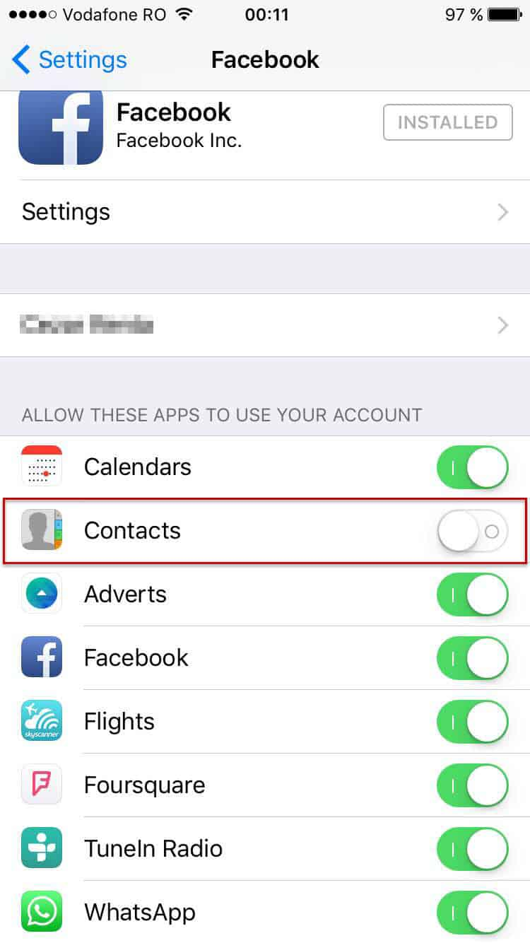 how to remove facebook contacts from iphone guide remove or hide contacts on your iphone or 20225