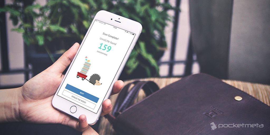 Unroll.me is an iOS app that can quickly get rid of junk mail and ...