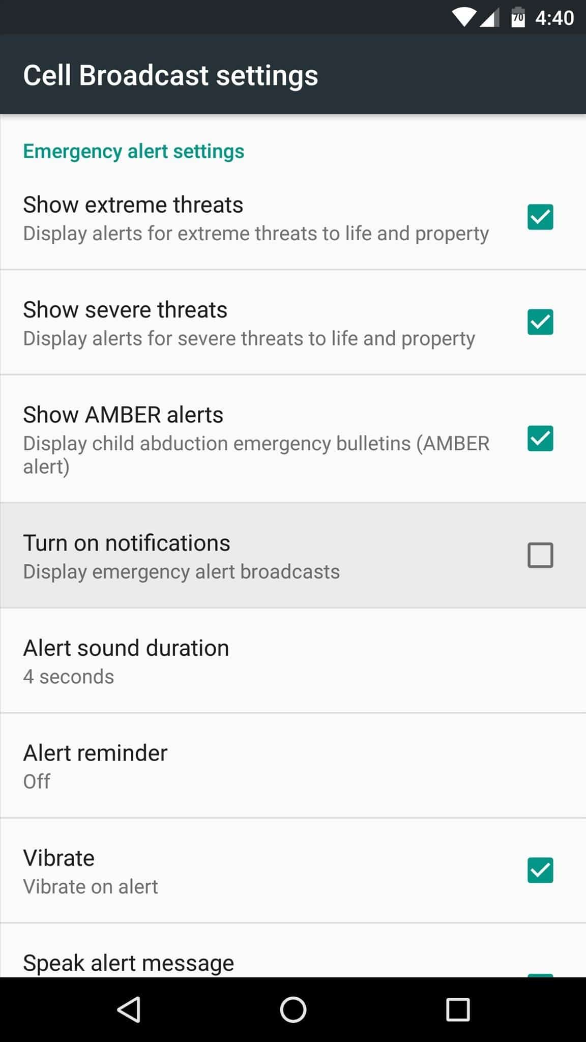 How To Configure Or Disable Emergency Alerts On Android