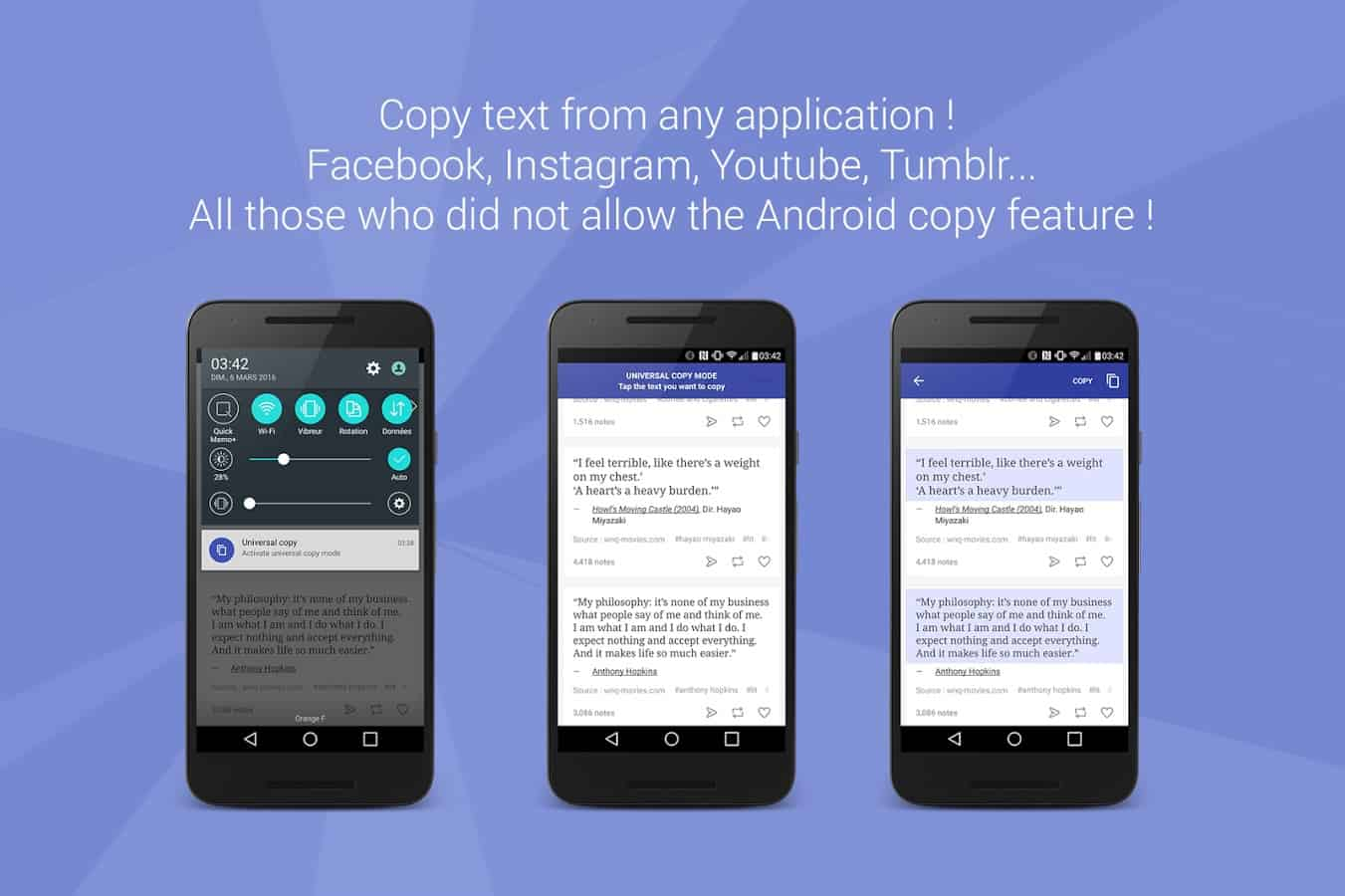 Universal Copy for Android lets you copy text even from ...