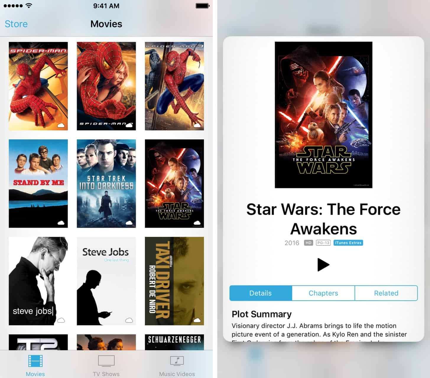 3D Touch tips for iOS Videos app