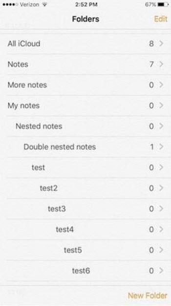 iOS Notes tips