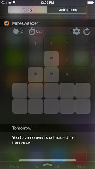 iOS Widget games