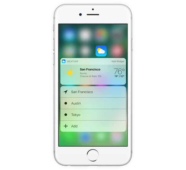 iOS10features3DTouchWidget
