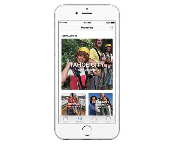 iOS 10 new Photos app features