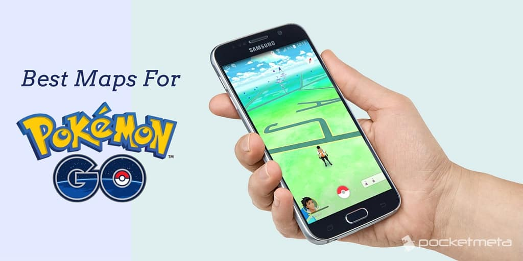 Best maps for Pokémon Go