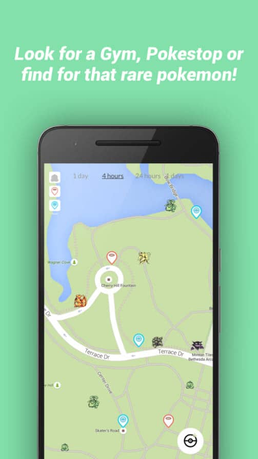 Pokémon map apps