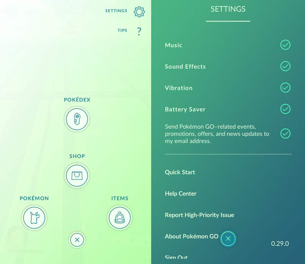 prevent battery drain in Pokémon Go