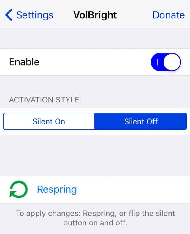 how to change volume settings on iphone