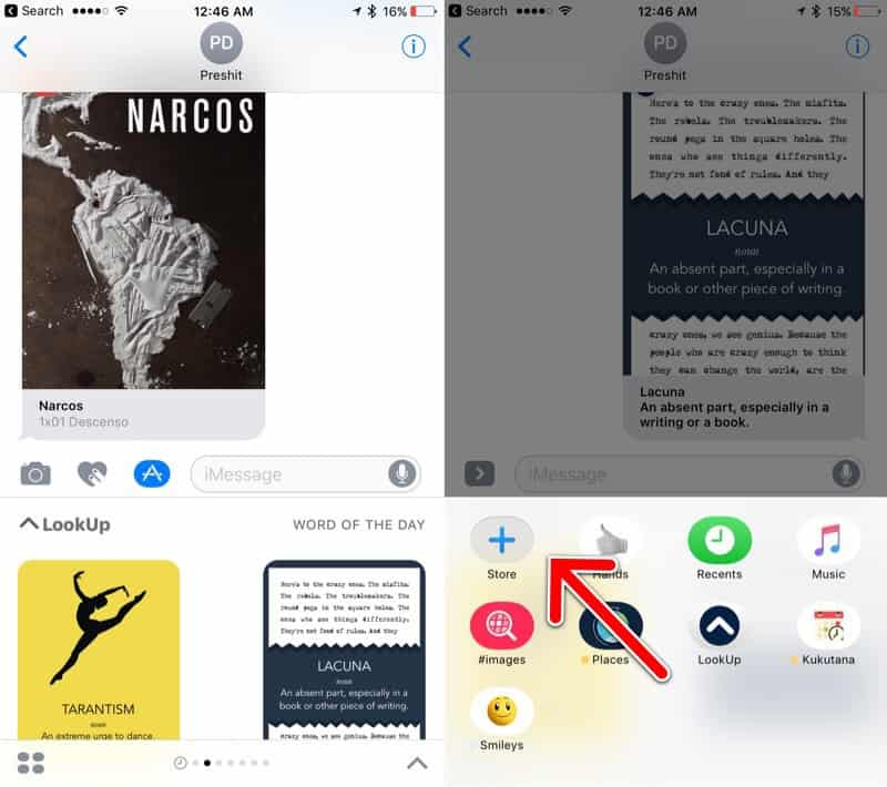 prevent automated iMessage app installs