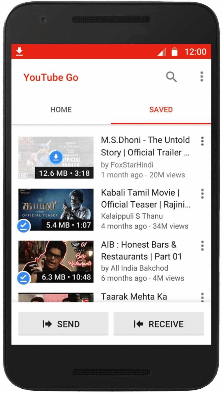 Youtube Go L Application Qu On Aimerait Tous Avoir Dans: YouTube Go App Will Let You Save And Watch Videos Offline