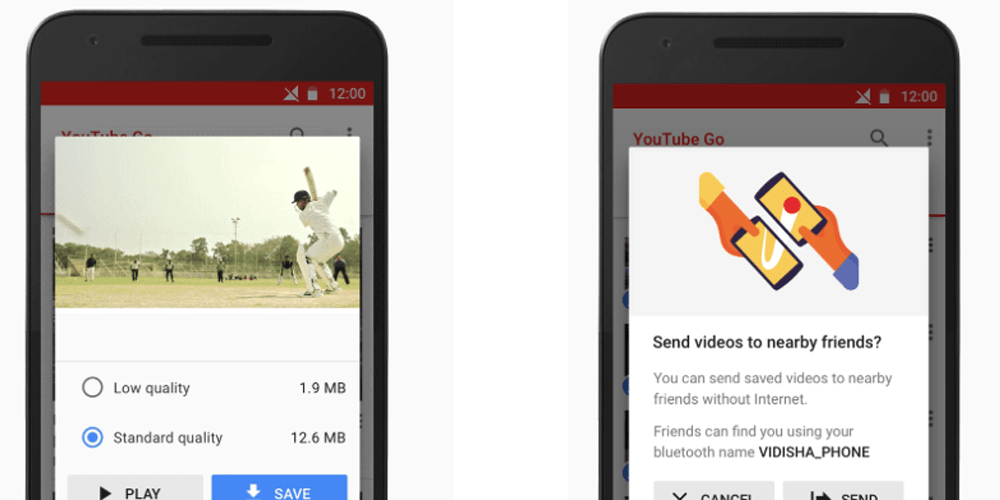 YouTube Go app will let you save and watch videos offline