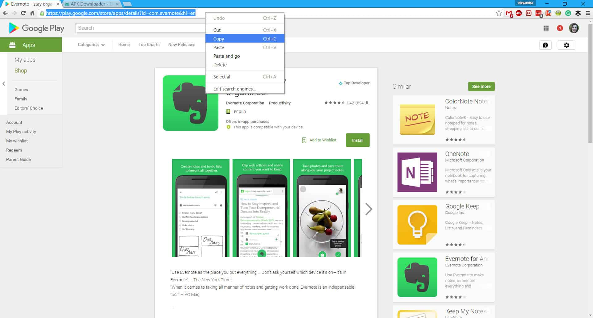 Guide] Download APK files from Play Store