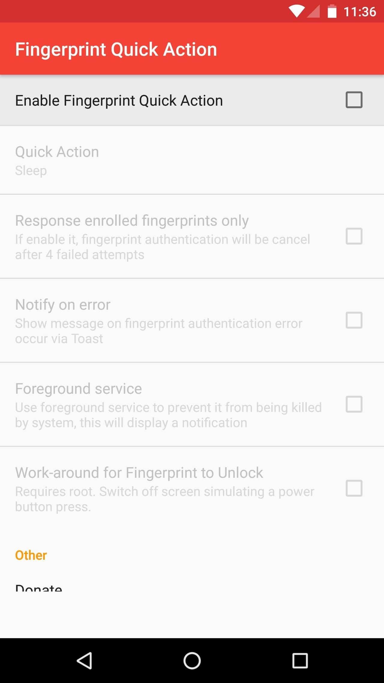 Get the Google Pixel fingerprint swipe notification gesture on your