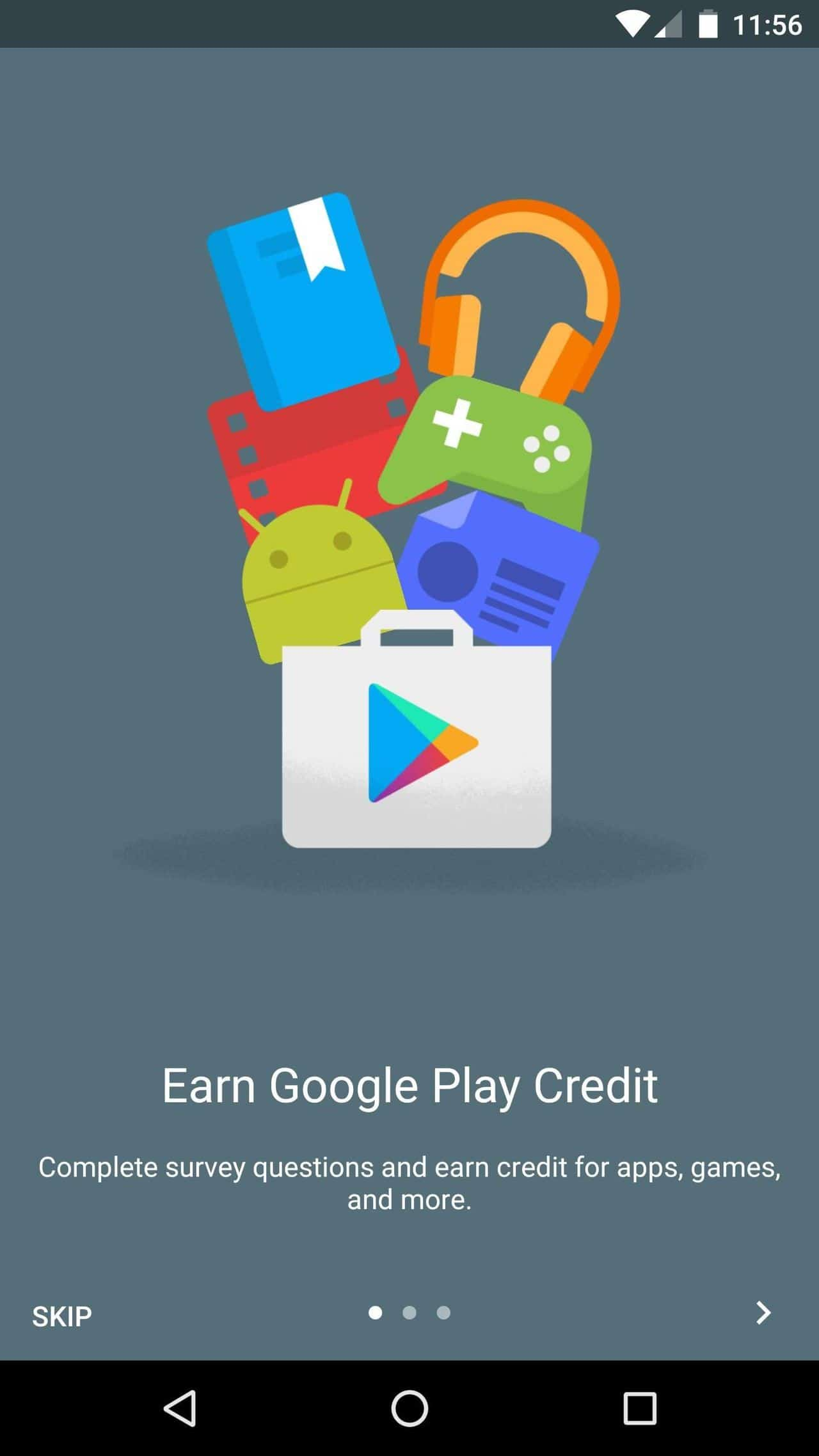 Get more surveys from Google Opinion Rewards