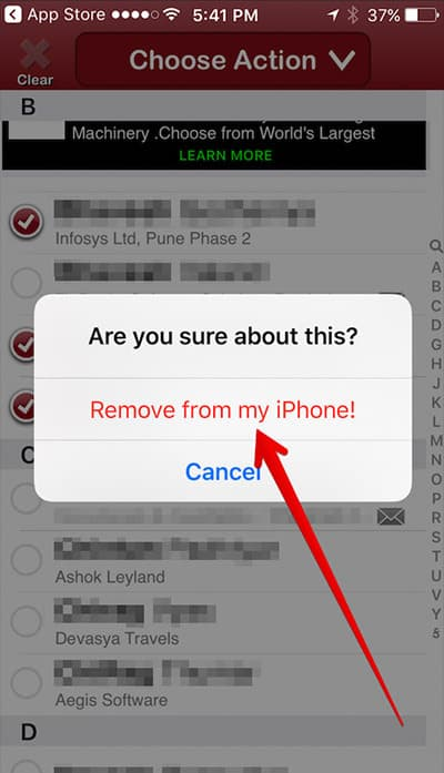 how to find deleted contacts on iphone 5