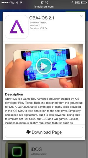 Install GBA Emulator ios 83/82/84 Free without Jail